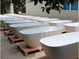 Freestanding Bathtub for 2 2 Person Hot Tub solid Surface Freestanding Resin Bathtub