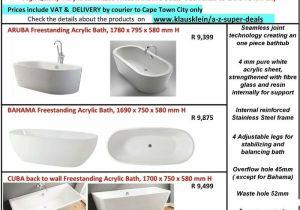 Freestanding Bathtub Gumtree Aruba Free Standing Bath Ref Kcar1780 High Quality 1780