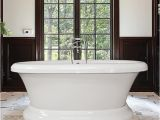 Freestanding Bathtub Hydro Bello Pedestal Freestanding soaking or Air Tub