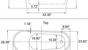 "Freestanding Bathtub Length 68"" Modern Bathroom White Acrylic Freestanding Luxury"