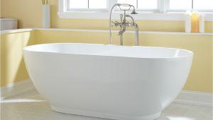 "Freestanding Bathtub No Overflow Sale 67"" Coley Freestanding Acrylic Tub No Overflow"