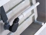 Freestanding Bathtub Offset Drain Woodbridge B 0006 Modern Bathroom Glossy Acrylic 54