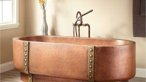 Freestanding Bathtub Pros and Cons Freestanding Tub Copper Effect Bath L Ebay Clawfoot