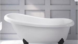 Freestanding Bathtub Thailand Daniela 58 X 30 Freestanding soaking Bathtub by Hydro