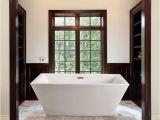 Freestanding Bathtub Under 60 Inches Streamline White 60 Inch Freestanding Tub with Internal