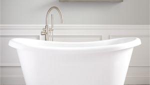"Freestanding Bathtub Used 65"" Stanek Acrylic Freestanding Tub Bathroom"