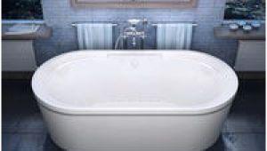 Freestanding Bathtub with Air Jets Shop atlantis Whirlpools Breeze 38 X 71 Oval Freestanding