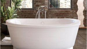 "Freestanding Bathtubs at Menards Midwest Tubs Peak 66"" W X 36"" D Freestanding soaking"