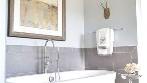 Freestanding Grey Bath Tub 25 Chic Bathtub Backsplashes to Stand Out Digsdigs