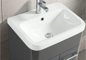 Freestanding Grey Bathroom Storage Zenox 500mm Grey Gloss Bathroom Basin Bination