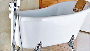 Freestanding Tub Faucet On Sale Hot Sale Votamuta Floor Mounted Waterfall Spout Tub Shower