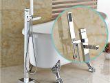 Freestanding Tub Faucet Sale Brass Chrome Single Lever Free Standing Bathroom Tub