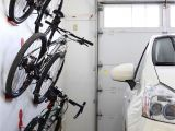Freestanding Vertical Bike Rack Diy Bike Wall Hanger Dahanger Dan Bike Hook Reclaim Your Floor Space