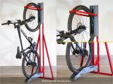 Freestanding Vertical Bike Rack Diy Bikeaway Free Standing Rack Cycle Works Limited Bike Lockers