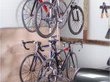 Freestanding Vertical Bike Rack Diy Four Bike Freestandingrack Free Standing Racks and Shelves
