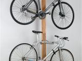 Freestanding Vertical Bike Rack Diy Micasaessucasa Via Furniture for Bikes Sculptural Bike Storage