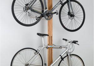 Freestanding Vertical Bike Rack for Apartment Micasaessucasa Via Furniture for Bikes Sculptural Bike Storage