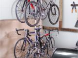 Freestanding Vertical Bike Rack System Four Bike Freestandingrack Free Standing Racks and Shelves