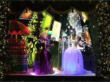 Frozen Christmas Light Show Holiday Window Displays Light Up New York City Saks Fifth Avenue