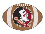 Fsu Rug Fanmats Ncaa Florida State University Seminole Logo Brown 2 Ft X 3