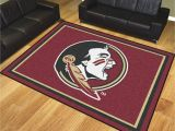 Fsu Rug Florida State University Seminoles area Rug Nylon 8 X 10