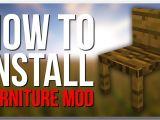 Furniture Mod Installer How to Install Mrcrayfishs Furniture Mod Youtube