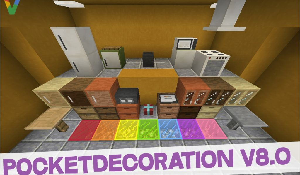 . Furniture Mod Installer Pocketdecoration 8 0 Furniture Mod for