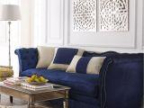 Furniture Stores Warner Robins Ga Horton Navy Velvet sofa Mood Eclectic Interiors Pinterest Navy