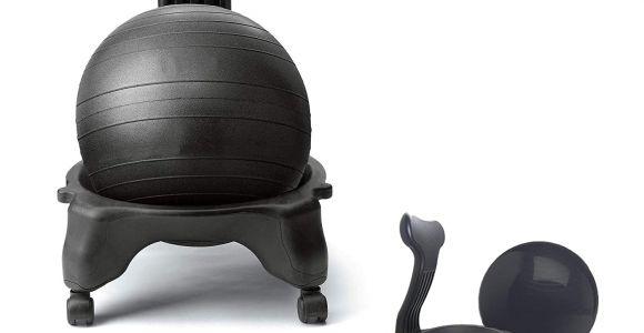 Gaiam Backless Classic Balance Ball Chair Amazon Com 1up Fit Chair Balance Ball Chair Home Office Pump