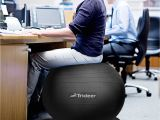 Gaiam Classic Balance Ball Chair Ball Desk Chairs Ergonomic Desk Ideas