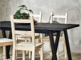 Gar Knot Chair Grebbestad Ryggestad Table Pinterest Stained Table Black