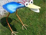 Garden Art From Recycled Materials Yard Art Bird Feeder Recycled Garden tools Welding Art Spoon