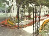 Garden Art Umbrellas Firenze Griffith Creek Designs Victorian Steel Arbor Wayfair