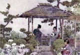 Garden Art Umbrellas Firenze Mis Laminas Para Decoupage Geisha M Fl Pinterest Geisha and