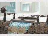 Garden Bathtub Faucet Shop Kokols Oil Rubbed Bronze Waterfall Bath Tub Shower