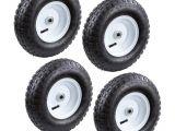 Garden Cart Replacement Wheels Farm Ranch 13 In Pneumatic Tire 4 Pack Fr1035 the Home Depot
