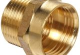Garden Hose Fitting Size anderson Metals Brass Garden Hose Fitting Connector 3 4 Female
