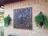 Garden Ridge Metal Wall Art Fleur D Lis Metal Art Bought Hobby Lobby for 50 Off Metal Wall