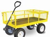 Garden Wagon Lowes Ft Steel Yard Cart Superb Garden Wagon Lowes 1