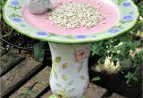 Garden Whimsies Yard Art Birdfeeder Garden totem by Garden Whimsies by Mary Garden Whimsies