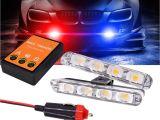 Ge Led Light Bar 2×4 Led Mini Motorcycle Police Light for Car Flash Emergency Hazard