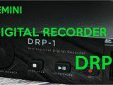 Gemini Drp-1 1u Rack-mount Digital Recorder Drp 1 Digital Recorder From Gemini Youtube