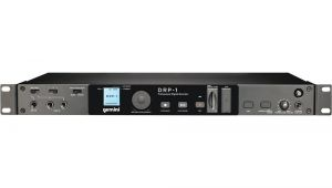 Gemini Drp 1 Rack Mount Sd Usb Digital Recorder Gemini Drp 1 Rackmount Digital Audio Recorder Drp 1 B H Photo
