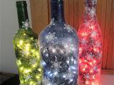 Glass Bottle Decoration Ideas 80 Homemade Wine Bottle Crafts Glass Pinterest Christmas Wine