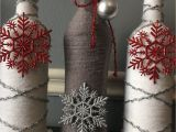 Glass Milk Bottle Decoration Ideas Christmas Holidays Wine Bottle Decor Craft Bottles Glass Bottle