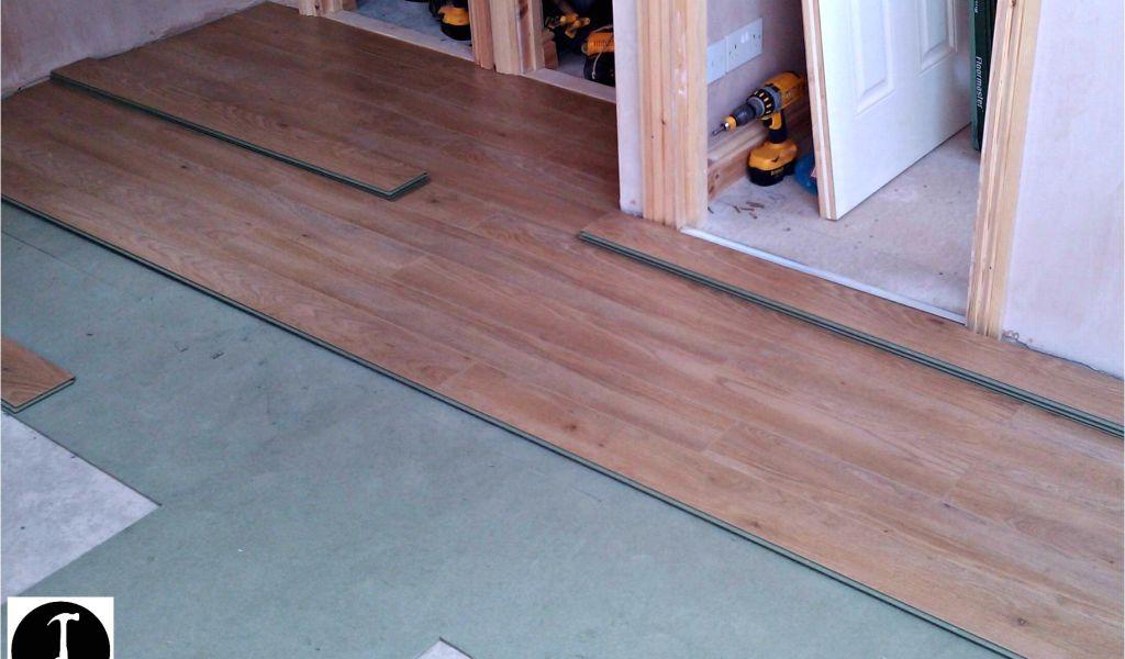 Glue And Nailing Hardwood Floors How To Install Laminate Flooring