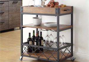 Gold Bar Cart With Wine Rack Spring Farmhouse Tour Easter Spring