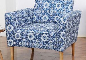 Gold Sparrow Furniture Gold Sparrow Blue Flower Print Carlsbad Armchair Flower Prints