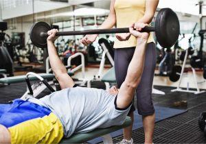 Golds Gym Bench Press Regular Barbells Vs Olympic Barbells Livestrong Com