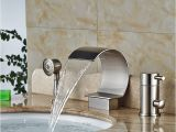 Good Quality Bathtubs Good Quality C Shape Bathtub Faucet Waterfall Deck Mount